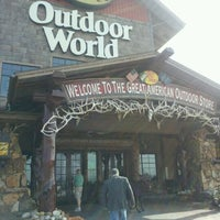 Photo taken at Bass Pro Shops by Amy E. on 4/28/2013