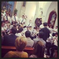 Photo taken at Plaza de la Iglesia by Jose R. on 6/28/2013