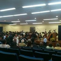 "Photo taken at Biblioteca ""C. P. Alfredo Adam Adam"" by Jonathan M. on 5/30/2013"
