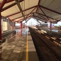 Photo taken at Metrorrey Estación Anáhuac by Ernesto Y. on 8/12/2017