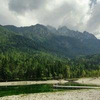 Photo taken at Jezero Jasna by Vince on 9/8/2016