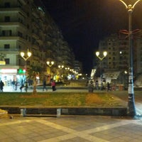 Photo taken at Navarinou Square by Andreas B. on 2/8/2013