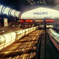 Das Foto wurde bei Hamburg Hauptbahnhof von Martin R. am 10/7/2012 aufgenommen
