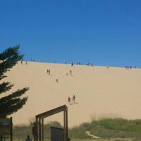 Photo taken at Dune Climb - Sleeping Bear Dunes by Krissie T. on 7/29/2015