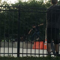 Photo taken at Wilson Skate Park by iSapien 1. on 9/25/2016