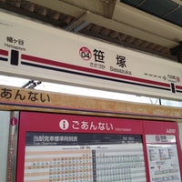 Photo taken at Sasazuka Station (KO04) by YUICHI M. on 8/5/2013