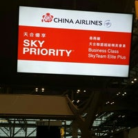 Photo taken at China Airlines (CI) Check-In Area by Tatsuya F. on 5/7/2016