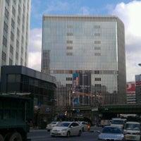 Photo taken at TOHO Twin Tower Building by Tatsuya F. on 2/14/2013