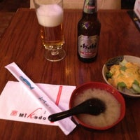 Photo taken at Mikado Japanese Cuisine by 八尾 憲. on 10/25/2012