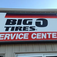 Photo taken at Big O Tires by Gerald M. on 8/28/2013