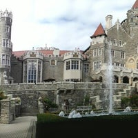 Photo taken at Casa Loma by Miriam M. on 10/3/2012