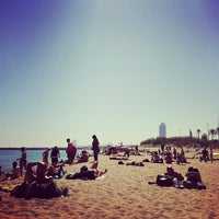 Foto tomada en Playa de la Mar Bella por Gerard C. el 4/14/2013