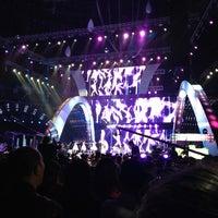 Photo taken at 梅赛德斯奔驰文化中心 Mercedes-Benz Arena by Iris R. on 3/30/2013