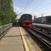 "Photo taken at ЖД Станция ""Бакинская"" by Sergey M. on 5/3/2017"
