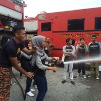 Photo taken at Balai Bomba & Penyelamat Seksyen 15 by Sarah R. on 10/30/2015