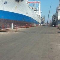 Photo taken at Çelik Tekne Tersanesi by Mahmut G. on 8/15/2014