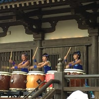 Photo taken at Matsuriza Taiko Drummers by Mark S. on 5/24/2017