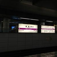 Photo taken at Minami-morimachi Station (K13/T21) by Kanae ハ. on 3/21/2013