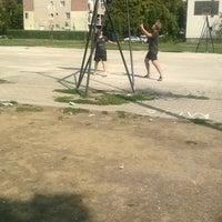 Photo taken at Спортско Игралиште Топанско Поле by Marija M. on 9/20/2015