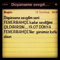 Photo taken at Fenerbahce Aski by Selcuk M. on 7/19/2013