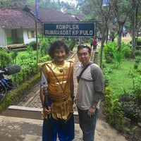 Photo taken at Candi Cangkuang by budhi s. on 3/21/2015