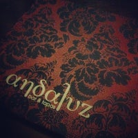 Photo taken at Andaluz Bar & Tapas by Stephen d. on 5/6/2014