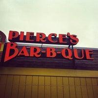 Photo taken at Pierce's Pitt Bar-B-Que by Josh W. on 1/11/2013