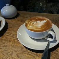 Photo taken at The Borough Barista by Daniel A. on 12/22/2012