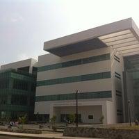 Photo taken at Biblioteca Central Universitaria by Angie C. on 5/30/2013