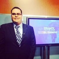 Photo taken at CitrusTV by Louis O. on 2/23/2014