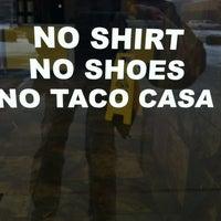 Photo taken at Taco Casa by Brandon F. on 12/28/2012