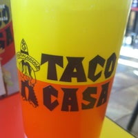 Photo taken at Taco Casa by Brandon F. on 2/27/2013
