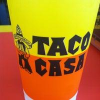 Photo taken at Taco Casa by Brandon F. on 12/17/2012