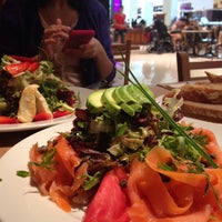 Photo taken at Le Pain Quotidien by Mila S. on 4/6/2015