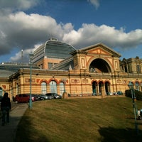 Photo taken at Alexandra Palace by Emma D. on 9/23/2012