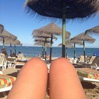 Photo taken at Bikini Beach by Nuria F. on 6/29/2014