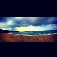 Photo taken at Spiaggia Torre dei Corsari by VivaLaValex on 10/2/2014