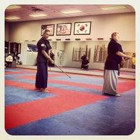 Photo taken at Vasquez Taekwondo Academy by Rolando V. on 10/30/2012