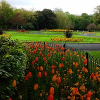 Photo taken at St Stephen's Green Playground by Ion B. on 5/1/2017