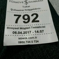 Photo taken at Türkiye İş Bankası by  Yusuf P. on 4/6/2017
