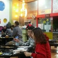 Photo taken at 5.5 닭갈비 막국수 전문점 by SHIN S. on 11/15/2015