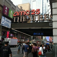 Photo taken at AMC Empire 25 by Damian C. on 7/12/2013
