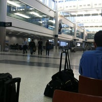 Photo taken at Terminal E by Damian C. on 10/26/2012