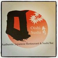 Photo taken at Oishi Sushi Jap Resto by Sherryn D. on 10/4/2012