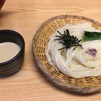 Photo taken at 手打うむどん 始祖 清水屋 by Ayano K. on 2/26/2017