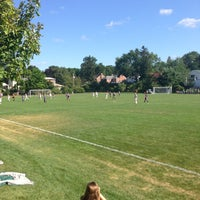 Photo taken at St Kate's Soccer Field by Phil A. on 8/30/2013