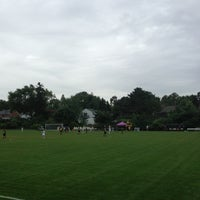 Photo taken at St Kate's Soccer Field by Phil A. on 9/14/2013