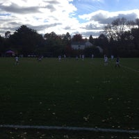 Photo taken at St Kate's Soccer Field by Phil A. on 10/26/2013