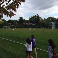 Photo taken at St Kate's Soccer Field by Phil A. on 10/2/2013