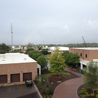 Photo taken at Hanover Parking Deck by Cristina B. on 10/9/2012